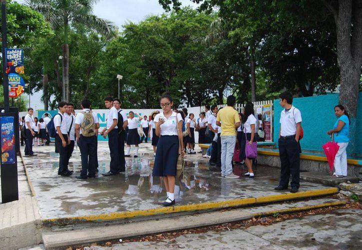 La mayoría de las actividades son realizadas por los propios estudiantes. (Archivo/SIPSE)