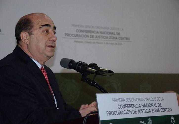 Jesús Murillo Karam quiere recuperar la confianza de la ciudadanía y la credibilidad en la justicia. (Notimex)