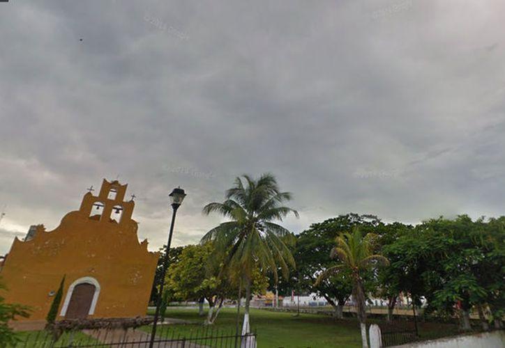 Día gris se vivió este miércoles en Dzilam González: una mujer mató accidentalmente a su propio hijo. La imagen es únicamente ilustrativa. (Google Street View)