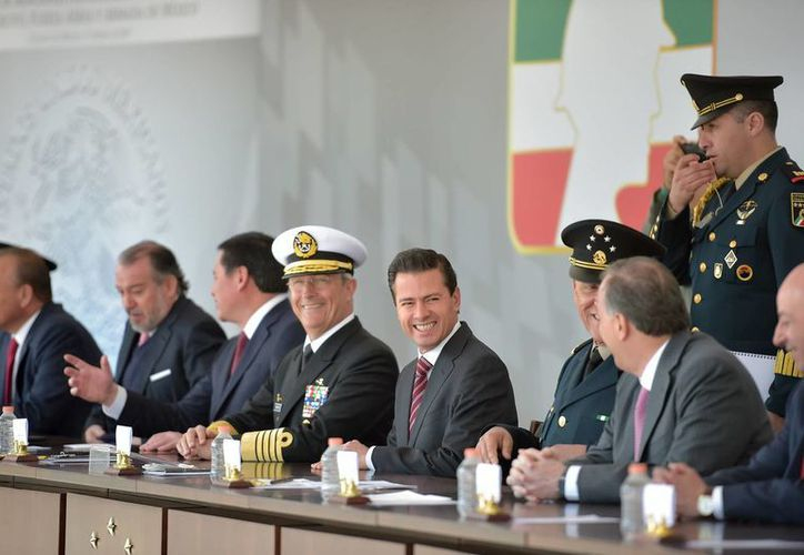 Peña Nieto dijo que el decreto emitido este martes estará vigente por seis meses. (Presidencia)