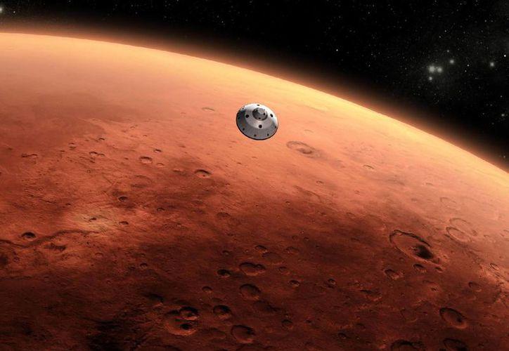 En Marte podría haber habido vida hace mucho, cuando el planeta era más parecido a Tierra que ahora, de acuerdo al astrobiólogo  Rafael Navarro González. (libertaddigital.com)