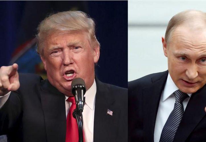"""Durante la campaña electoral norteamericana, Trump calificó a Putin de """"hombre brillante y lleno de talento"""". (Los Tiempos Digital)"""