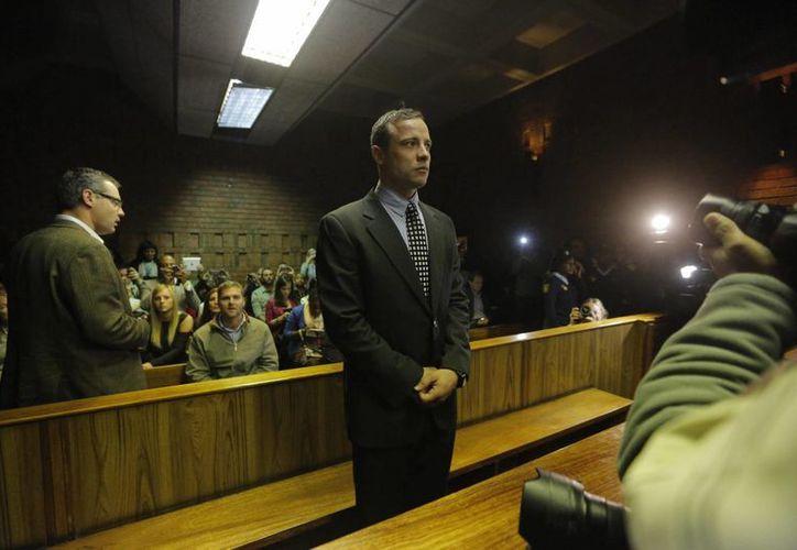 Pistorius enfrentará a partir del 3 de marzo un juicio por el asesinato de su novia Reeva Steenkamp, cometido el 14 de febrero de 2013. (Archivo/EFE)