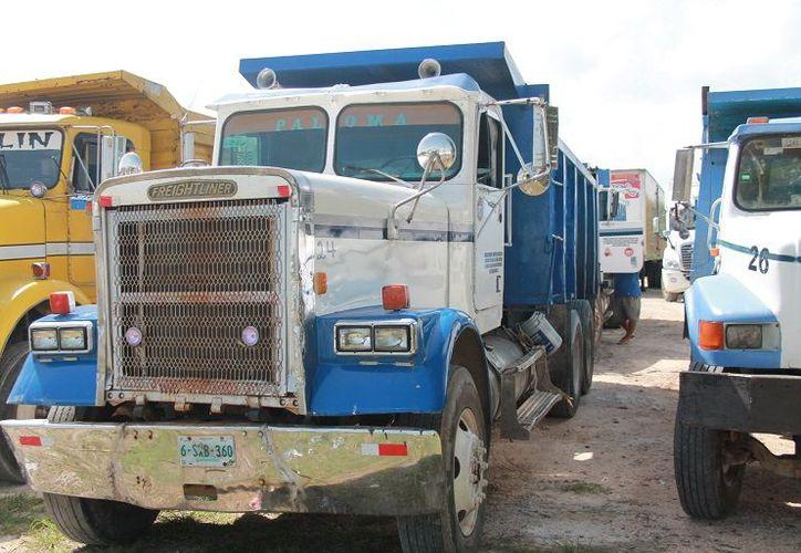 El Sindicato de transportistas y Trabajadores de la Construcción y Procesos Industriales de México, tomará protesta mañana. (Javier Ortiz/SPSE)