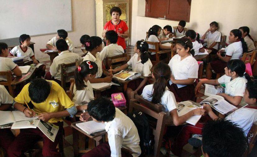 Maestros y alumnos se preparan para concluir el curso escolar. (Milenio Novedades)