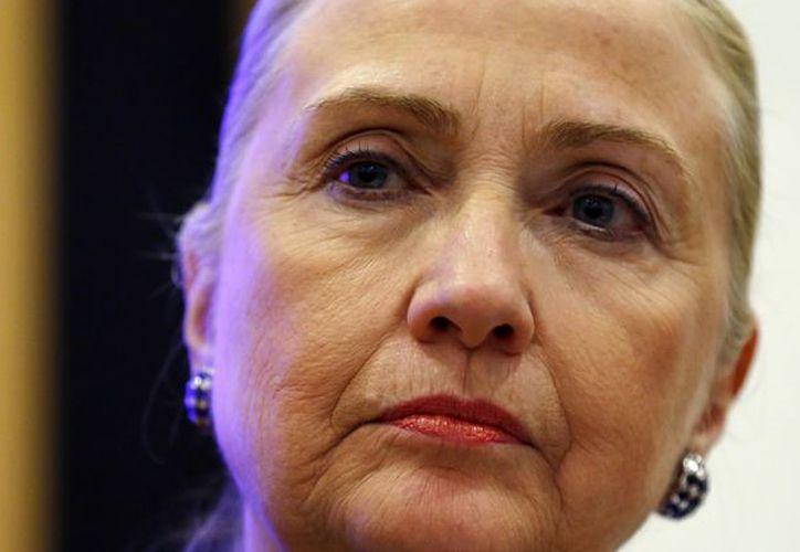Hillary Clinton, en imagen del 6 de dicembre pasado. (Agencia AP)