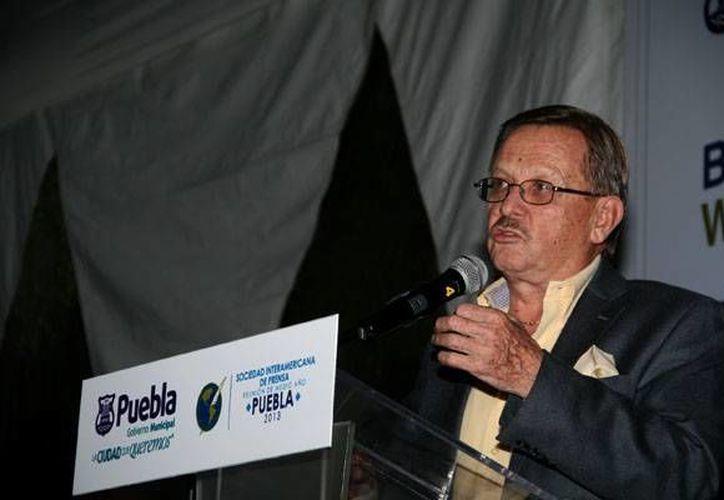Mantilla afirmó que la SIP no solo defiende la libertad de expresión de los periodistas. (www.sipiapa.org)
