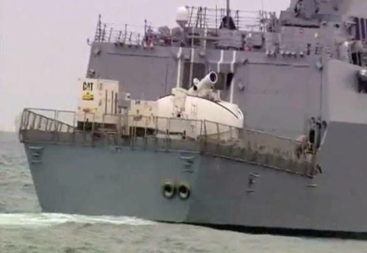 El primer prototipo será instalado en el buque de desembarco Ponce. (Foto: US NAVY)