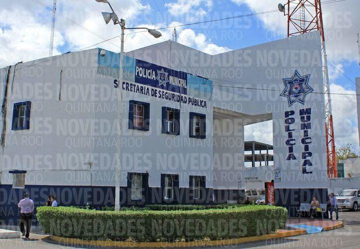 La corporación policíaca cuenta con más de mil 500 policías municipales. (Jesús Tijerina/SIPSE)