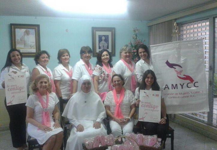 La Amycc y las Siervas de María unen esfuerzos para luchar contra el cáncer. (SIPSE)