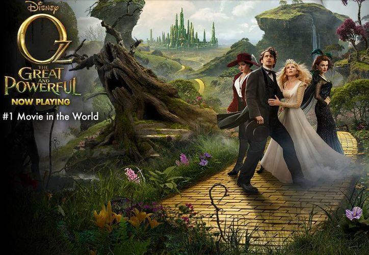 'Oz' se consolida como la película que ha registrado mayor recaudación en lo que va del presente año.(disney.go.com/thewizard)