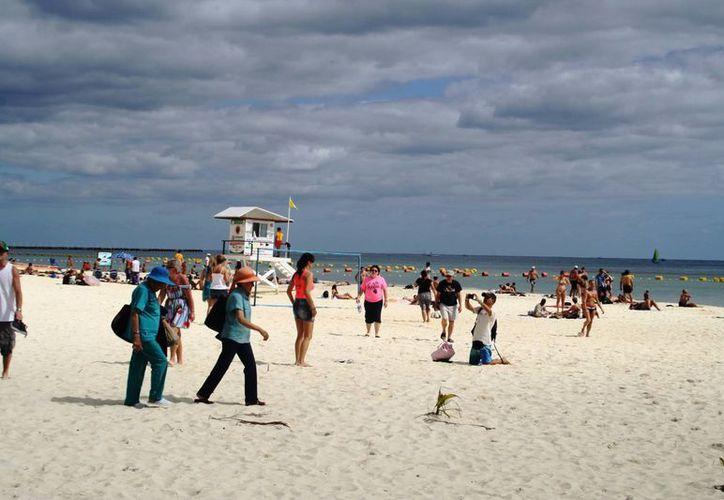 La  mayor incidencia de robo a ciudadanos franceses en Playa del Carmen, ocurre en las playas y durante la temporada alta. (Octavio Martínez/SIPSE)