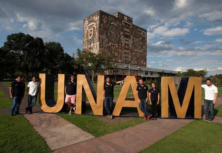 Durante su estancia, los estudiantes extranjeros contarán con la compañía y apoyo de un alumno perteneciente al programa UNAMigo. (La Jornada)