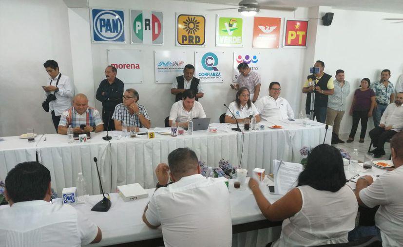 Cuatro partidos políticos en Quintana Roo impugnaron los resultados electorales de nueve distritos. (Daniel Tejada/SIPSE)