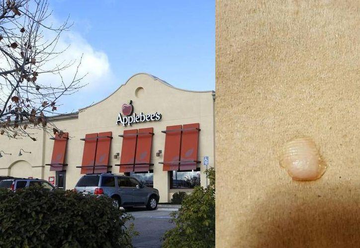 La mujer busca una compensación por parte del restaurante Applebee's. (sanluisobispo.com)