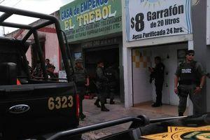 Operativo contra casas de empeño en Mérida