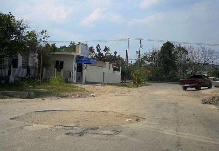 El presupuesto para componer las calles es de más de cuatro millones de pesos. (Harold Alcocer/SIPSE)