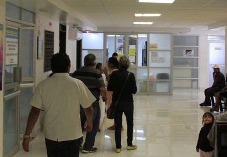 La auditoría programada al Hospital General de Chetumal, se suspendió debido a los daños que presenta. (Ángel Castilla/SIPE)