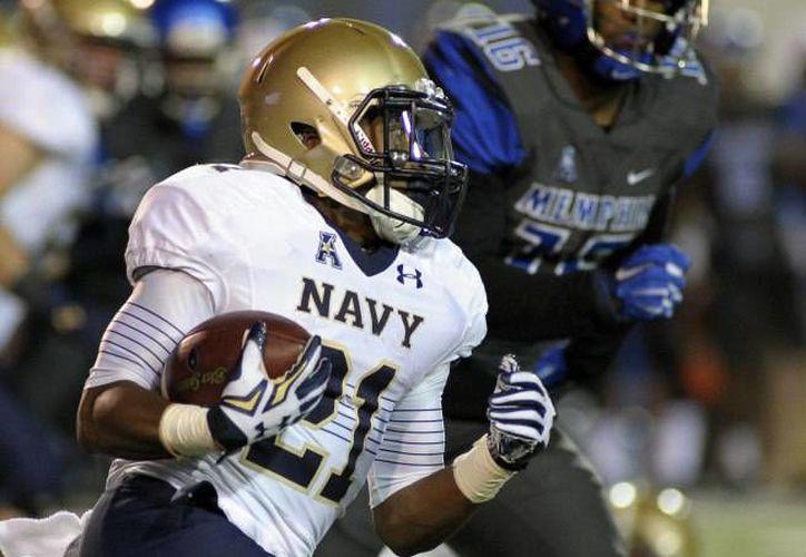 El equipo de futbol americano en modalidad 'sprint' de la Marina de los Estados Unidos enfrentará al Histórico Colegio Militar de México el próximo sábado. (Archivo evenue.net)