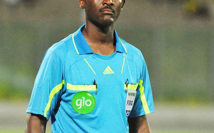 El árbitro Joseph Lamptey, de Ghana, fue suspendido de por vida, por mal arbitraje de un partido de la eliminatoria mundialista, en África. (Ghanasoccernet.com)