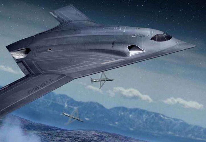 Long Range Strike Bomber es una de las armas que se encuentra desarrollando EU ante una posible confrontación militar. (Northrup Grumman)