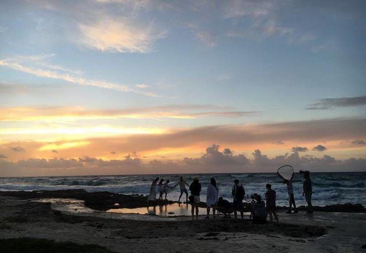 Cozumel fue parte de una producción que lo promocionará como un destino turístico familiar de primer nivel. (Redacción/SIPSE)