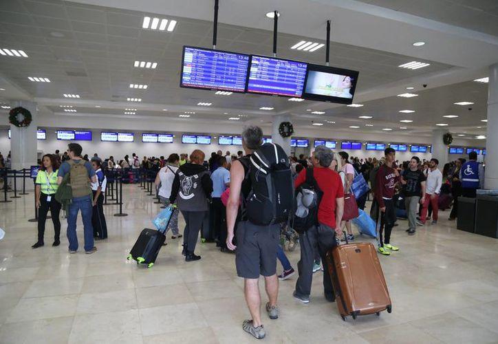Colombia, Argentina, Chile y Paraguay son los principales países de Sudamérica que generan turismo para este destino. (Israel Leal/SIPSE)