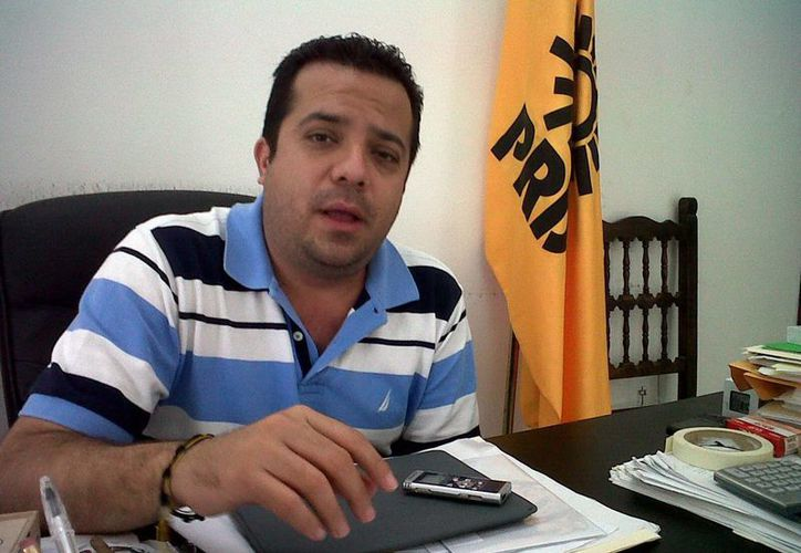 David Barrera  Zavala, dirigente estatal del PRD. (Milenio Novedades)