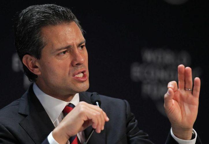 """Para Peña Nieto, México y Brasil son los """"dos motores importantes de América latina"""". (EFE/Archivo)"""