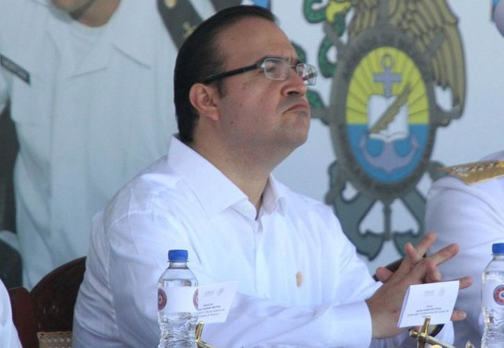 La dirigencia del PRI asegura no tener elementos suficientes para expulsar inmediatamente de sus filas a Javier Duarte. (Archivo/Notimex)