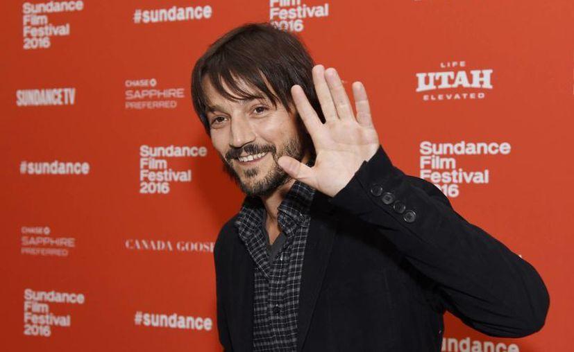 El actor, director y productor mexicano Diego Luna, quien aparece en esta foto de archivo de enero de este año, formará parte de un jurado en el Festival de cine de Cannes. (AP)