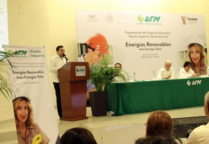 El área de energía solar ha tenido un desarrollo importante en los últimos años en el Estado, por ello la necesidad de contar con profesionales con esta especialidad (Milenio Novedades).