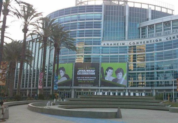 El Centro de Convenciones de Anaheim está listo para el evento más esperado del año: la convención de Star Wars Celebration 2015. (Hugo Peniche/SIPSE)