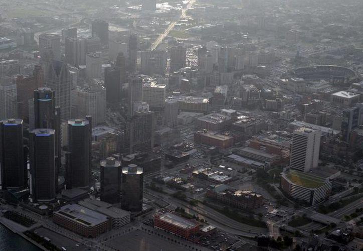 Vista aérea de la ciudad de Detroit, Michigan. (EFE/archjivo)