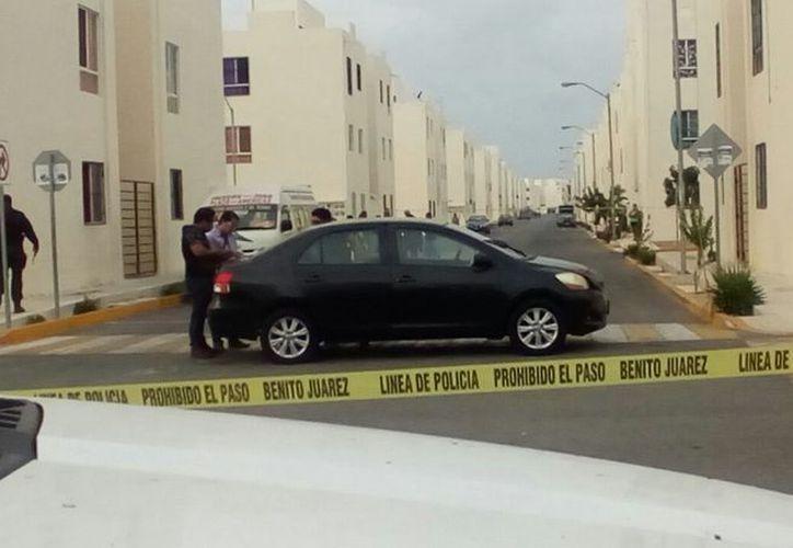 Se registraron dos muertos en Cancún. (Eric Galindo)