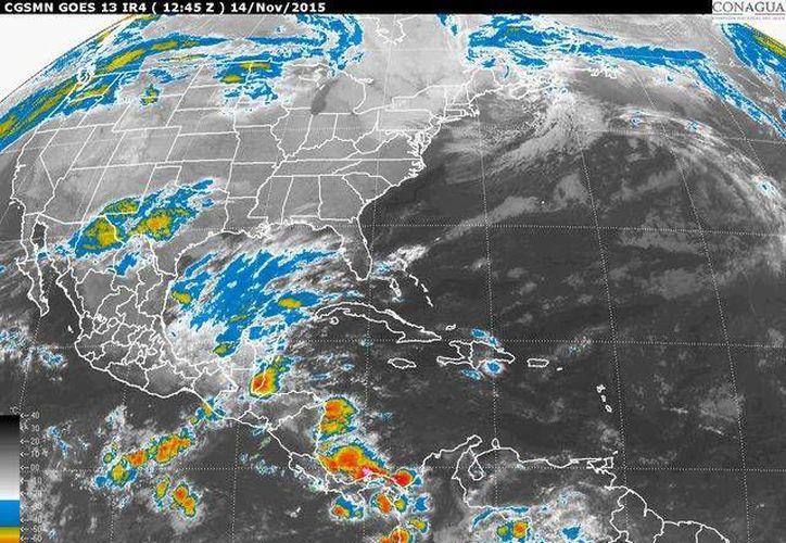 La onda tropical número 47 provocará alta probabilidad de precipitaciones en el sureste mexicano. (Contexto/Internet)