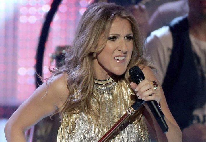 Celine Dion parará su gran carga de trabajo para tratar de sacar adelante a su familia. (EFE)
