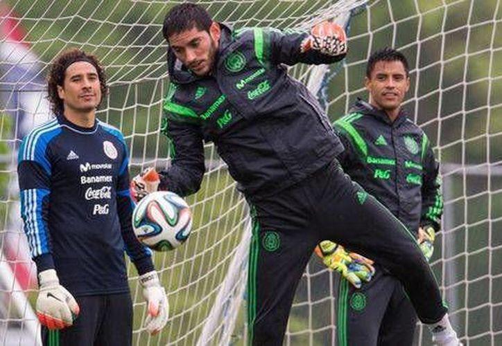 Los tres porteros del Tri: Guillermo Ochoa, Jesús Corona y Alfredo Talavera (Mexsport)