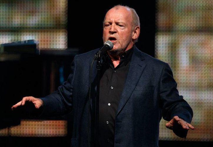 Imagen de archivo de agosto de 2011 del cantante británico Joe Cocker, quien falleció este 22 de diciembre, a los 70 años edad, víctima del cáncer de pulmón. (AP)