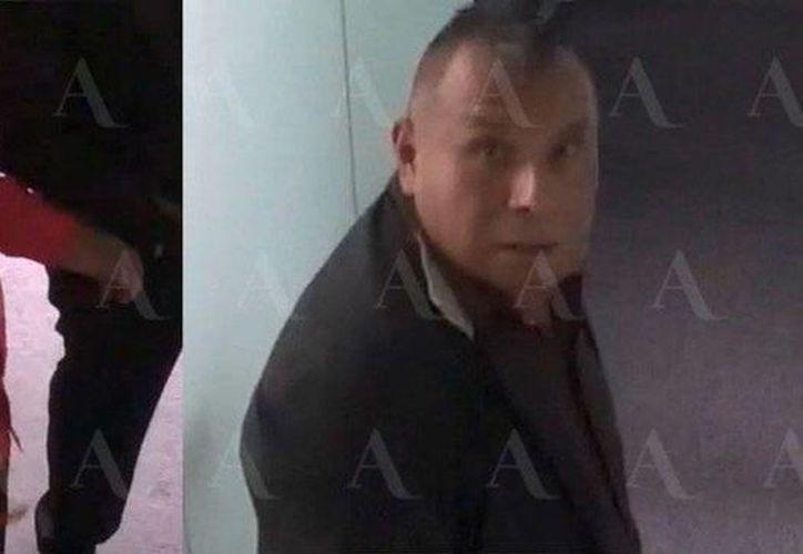 Las cámaras de seguridad de las oficinas de Aristegui Noticias captaron claramente los rostros de los asaltantes que ingresaron a robar el pasado 13 de noviembre. Piden a la ciudadanía colaboración para identificarlos. (Captura de pantalla/YouTube)