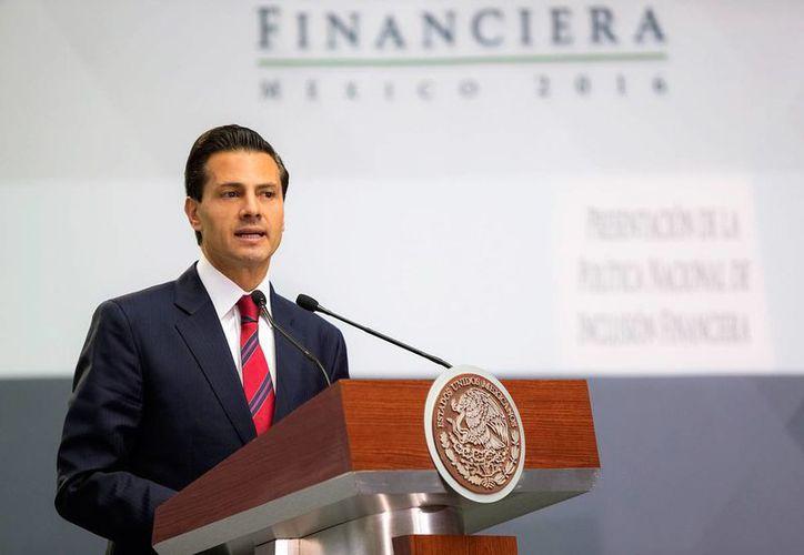 El presidente Enrique Peña Nieto ejerció su facultad de veto a la ley 3de3. (Notimex/archivo)