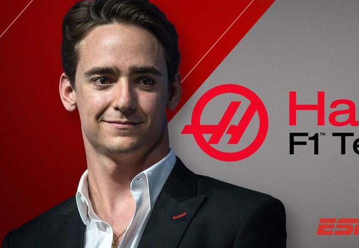 El piloto mexicano Esteban Gutiérrez competirá con la escudería Haas en Fórmula Uno a partir de 2016. (espn.go.com)