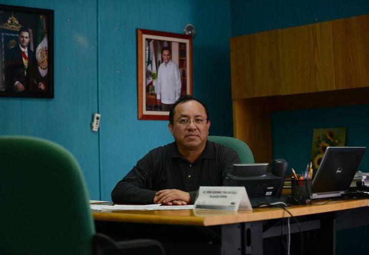 El delegado René Tun Castillo habló de las nuevas atribuciones de la Condusef en casos de abusos en cobranza. (Milenio Novedades)