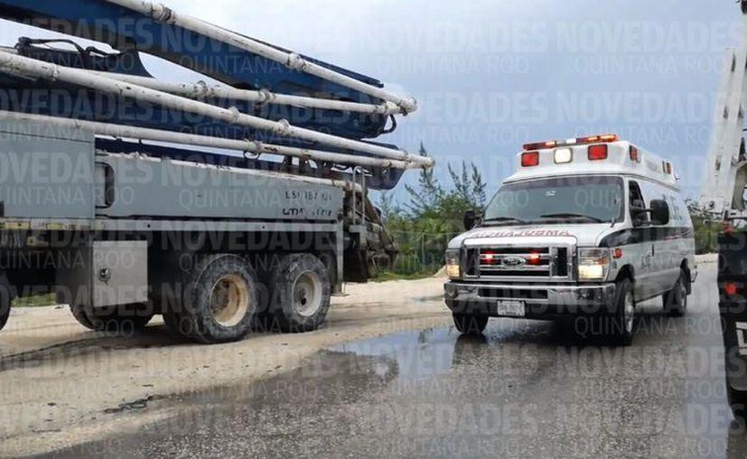 En el accidente se registran varias personas lesionadas. (Pedro Olive/ SIPSE)