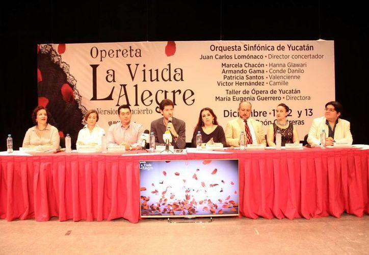 La Orquesta Sinfónica de Yucatán (OSY), cerrará este año con la opereta <i>La Viuda Alegre</i>, los días 11 y 12 de diciembre, en el Teatro <i>José Peón Contreras</i>