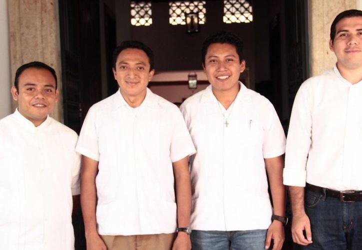 Los cuatro jóvenes seminaristas serán admitidos a las órdenes sagradas y el ministerio del lectorado, el próximo domingo en el Seminario Mayor. (Milenio Novedades)