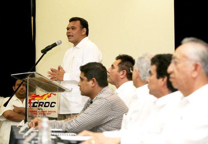 Zapata Bello detalló que en breve se establecerá el Instituto Yucateco del Emprendedor para apoyo directo a proyectos. (Cortesía)