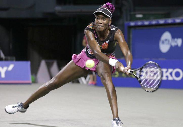 Venus se enfrentará ahora a Petra Kvitova. (Agencias)