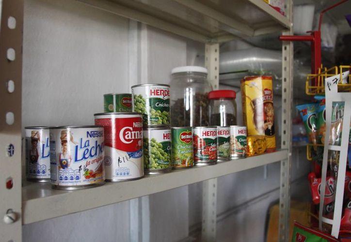 Entre los insumos requeridos se encuentran los alimentos no perecederos. (Archivo/SIPSE)