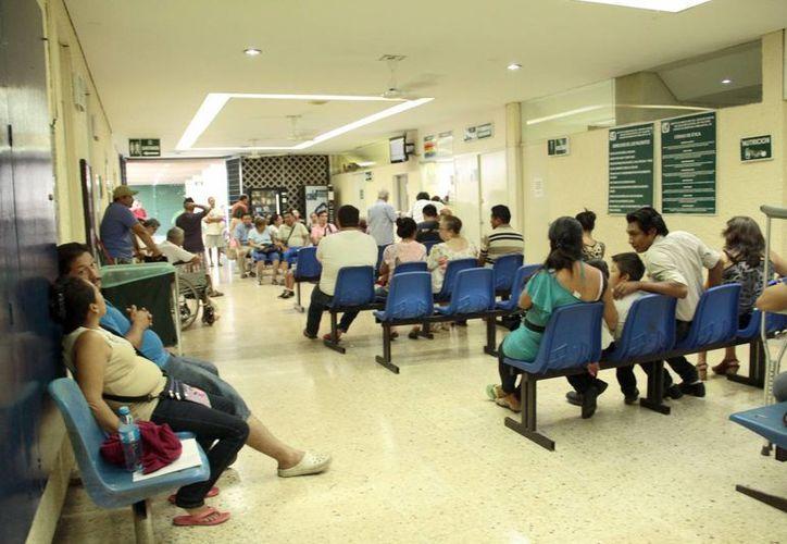 Las instituciones de salud del Estado 'rebosan' de pacientes con síntomas de dengue. (Milenio Novedades)